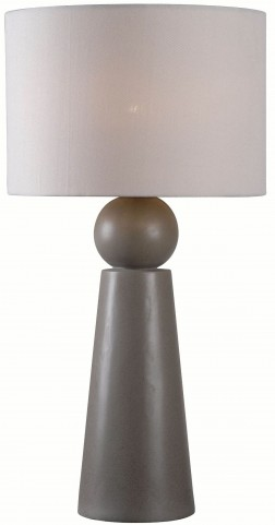 Parque Dark Concrete Outdoor Table Lamp