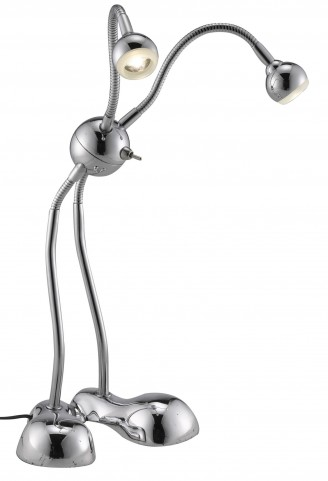 Alien Chrome Led Desk Lamp