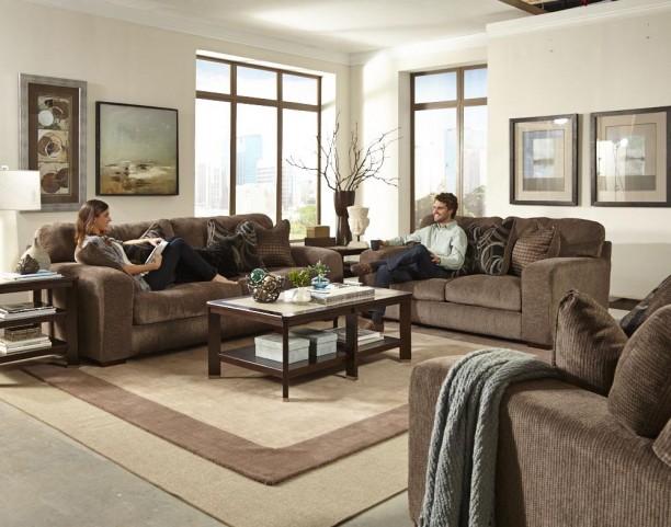 Serena Otter Living Room Set
