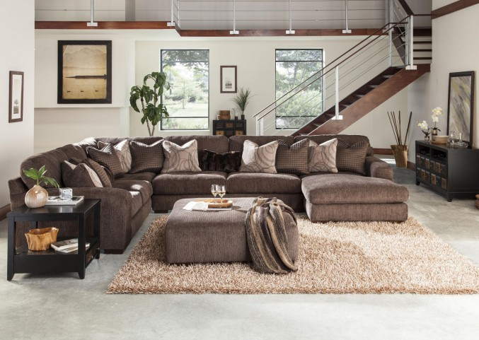 Serena Truffle Sectional
