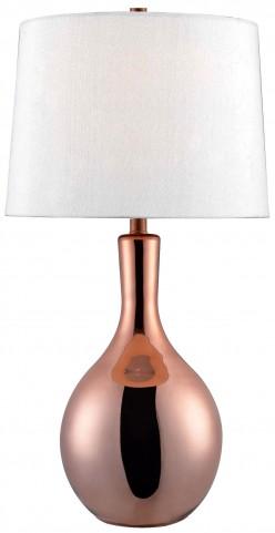 Lillian Copper Glass Table Lamp