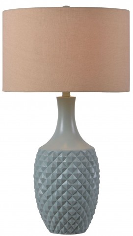 Anaya Green Teal Table Lamp