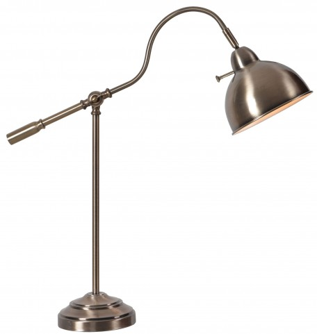 Michael Antique Brass Desk Lamp