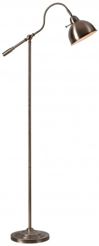 Michael Antique Brass Floor Lamp
