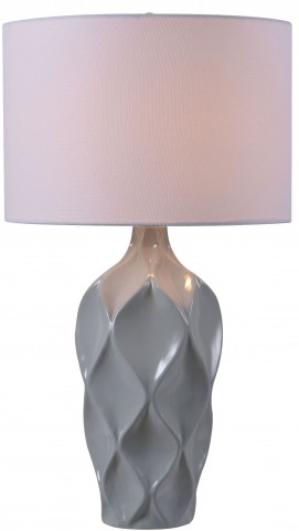 Newport Gray Table Lamp