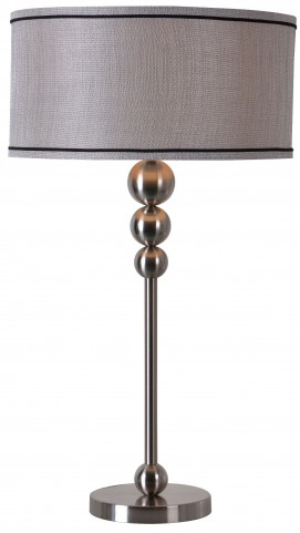 Margot Brushed Steel Table Lamp