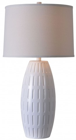 Kinsley White Table Lamp