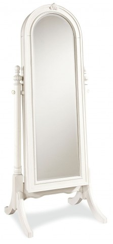 Bellamy Smartstuff Daisy White Cheval Storage Mirror