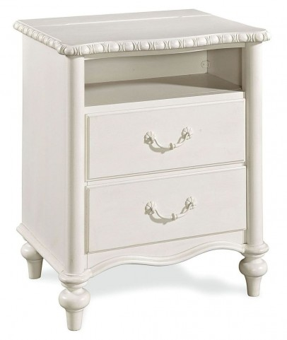 Bellamy Smartstuff Daisy White 2 Drawer Nightstand