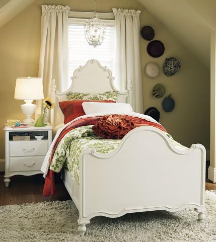 Bellamy Smartstuff Daisy White Poster Bedroom Set