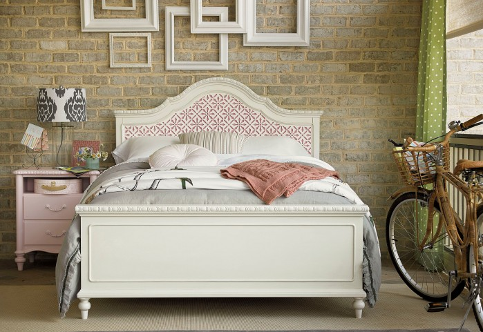 Bellamy Smartstuff Daisy White The Trellis Panel Bedroom Set