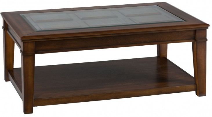 Lexington Brown Cocktail Table