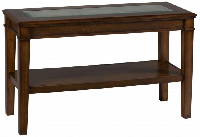 Lexington Brown Sofa Table