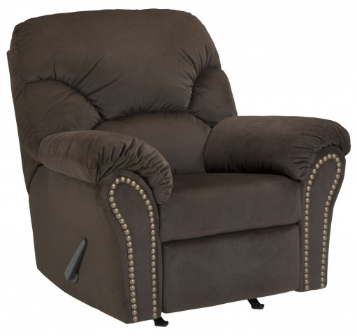 Kinlock Chocolate Rocker Recliner