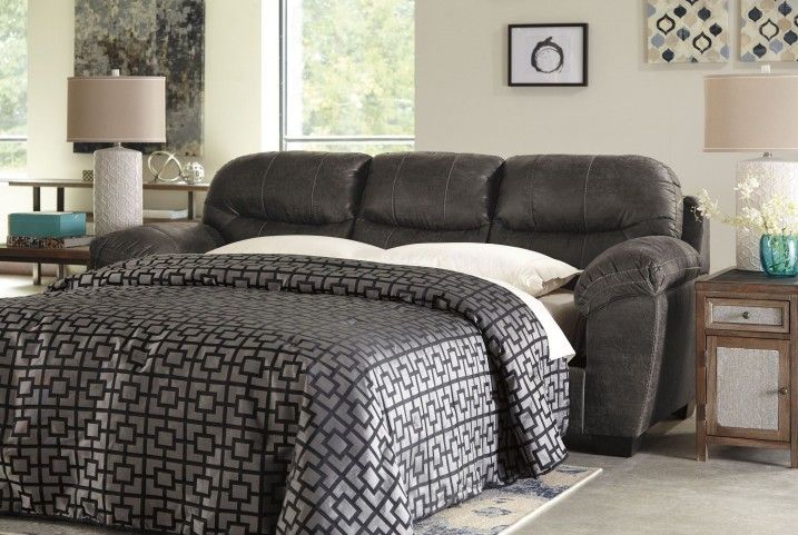 Havilyn Charcoal Queen Sofa Sleeper