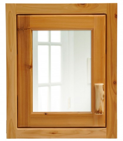 Cedar Hinged Left Large Medicine Cabinet