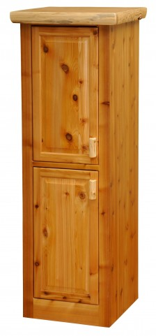 "Cedar 18"" Right Hinged Linen Cabinet With 2 Single Doors"