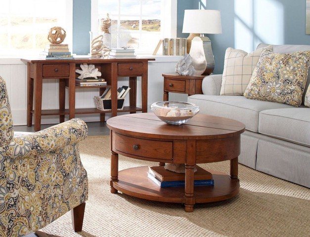 Attic Heirlooms Occasional Table Set