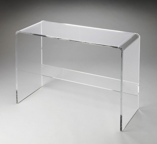 Crystal Clear Loft Console Table
