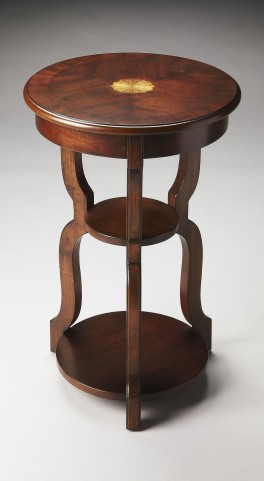 Sloane Plantation Cherry Tiered Accent Table