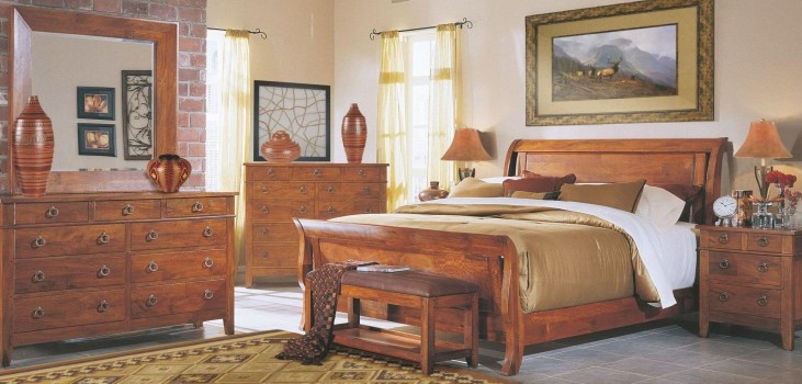 Urban Craftsmen Sleigh Bedroom Set