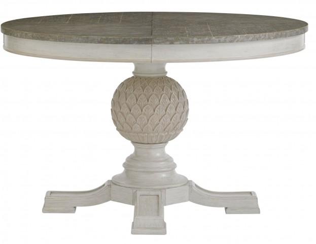 Preserve Orchid Artichoke Pedestal Table