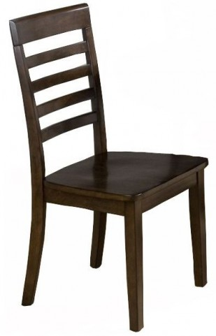 Taylor Cherry Slat Back Dining Chair Set of 2