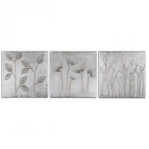 Sterling Trio Canvas Art Set of 3