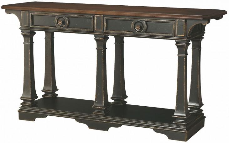 Dorset Black Sofa Table