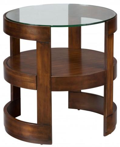 Avon Birch Round End Table