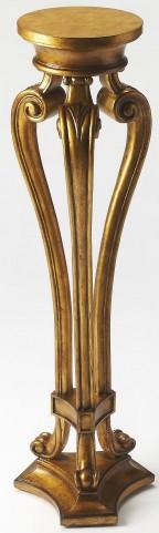 Arabella Gold Leaf Pedestal