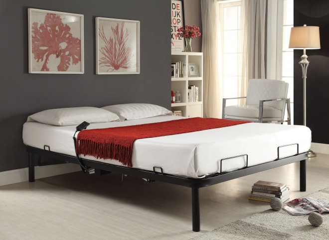 Twin Long Electric Adjustable Bed Frame