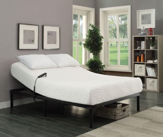 Stanhope Black Queen Adjustable Bed Base