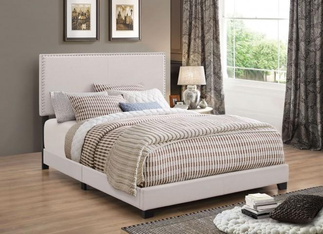 Boyd Ivory Queen Platform Bed