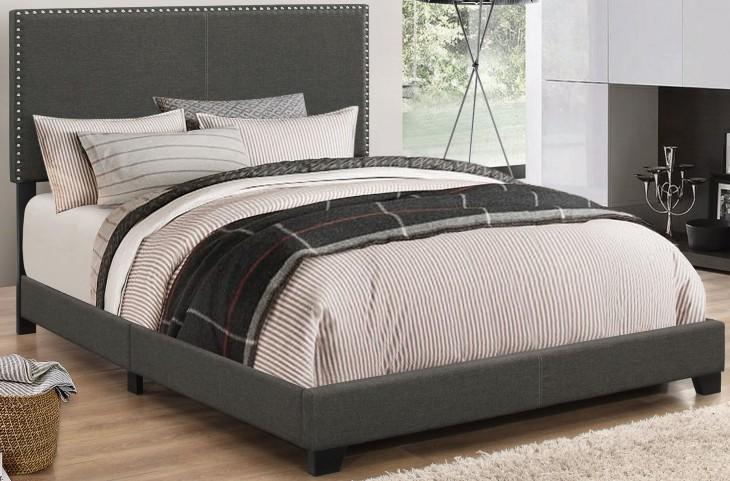 Boyd Charcoal Queen Platform Bed