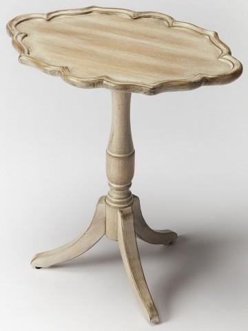 Higgins Driftwood Oval Pedestal Table