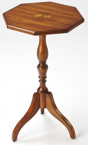 Archambault Antique Cherry Octagonal Pedestal Table