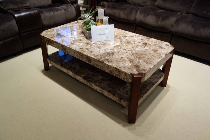 Indra 3 Piece Faux Marble Occasional Table Set