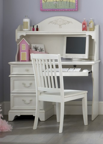 Arielle Student Desk with Hutch