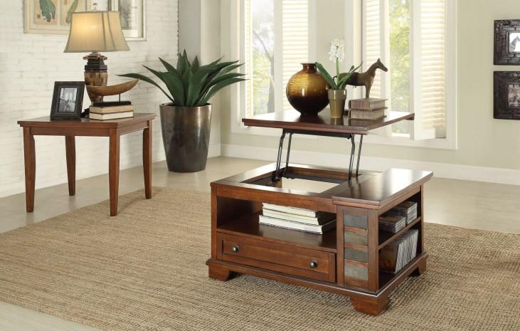 Barnett Lift Top Occasional Table Set