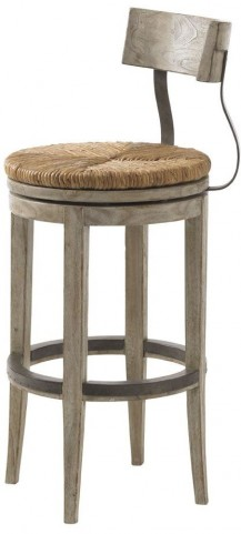 Twilight Bay Antique Linen Dalton Bar Stool
