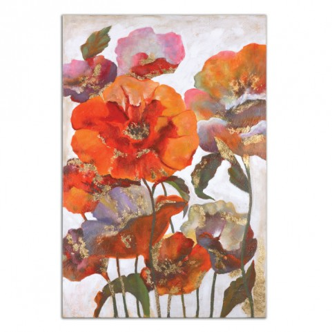 Delightful Poppies Floral Art