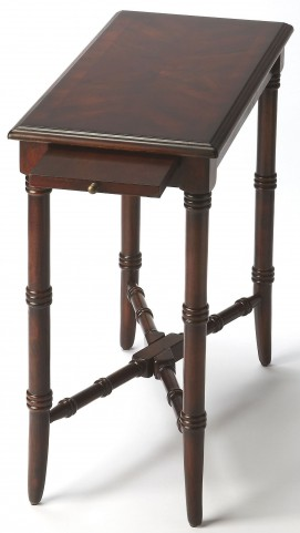 Skilling Plantation Cherry Chairside Table
