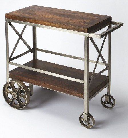 Industrial Chic Trolley Server