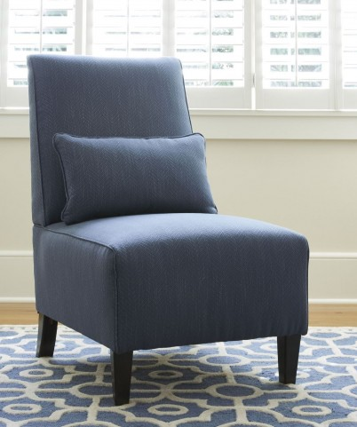Harahan Indigo Accent Chair