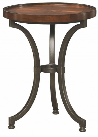 Barrow Rich Amber Round Chairside Table