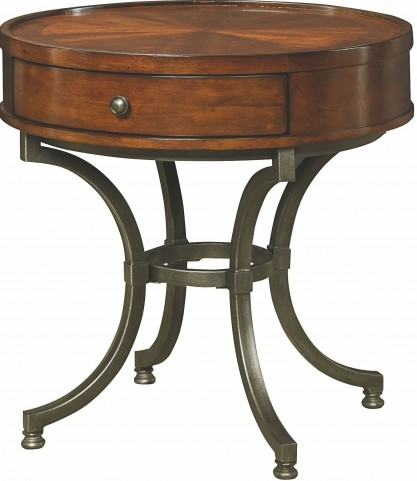 Barrow Rich Amber Round End Table