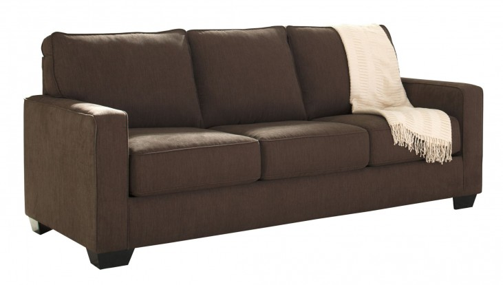 Zeb Espresso Queen Sofa Sleeper