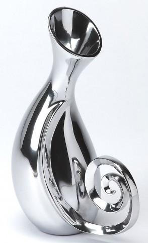 3593016 Hors D'Oeuvres Polished Aluminum Vase