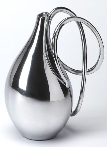 3594016 Hors D'Oeuvres Polished Aluminum Vase